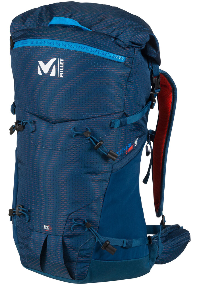 Millet Prolighter Summit 28 Backpack blue at Addnature.co.uk